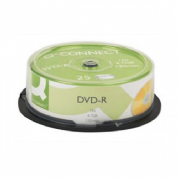 Q Connect KF00255 DVD-R Cake Box (Pk-25)